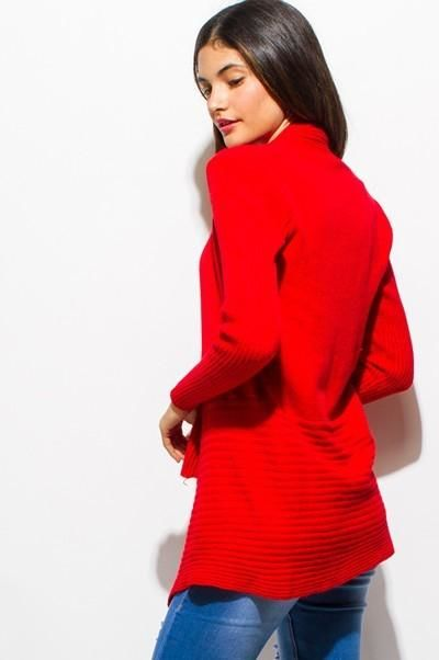 Holly Red Cardigan Sweater Sweater