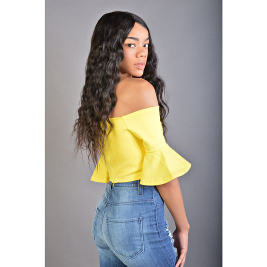 35740d1f09daf Off Shoulder Ruffle Sleeve Crop Top – shopslayplay.com