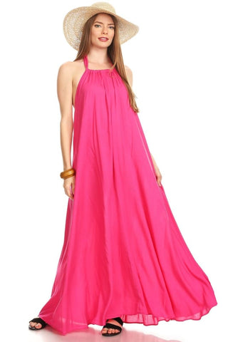 Venechia Royal Maxi Dress