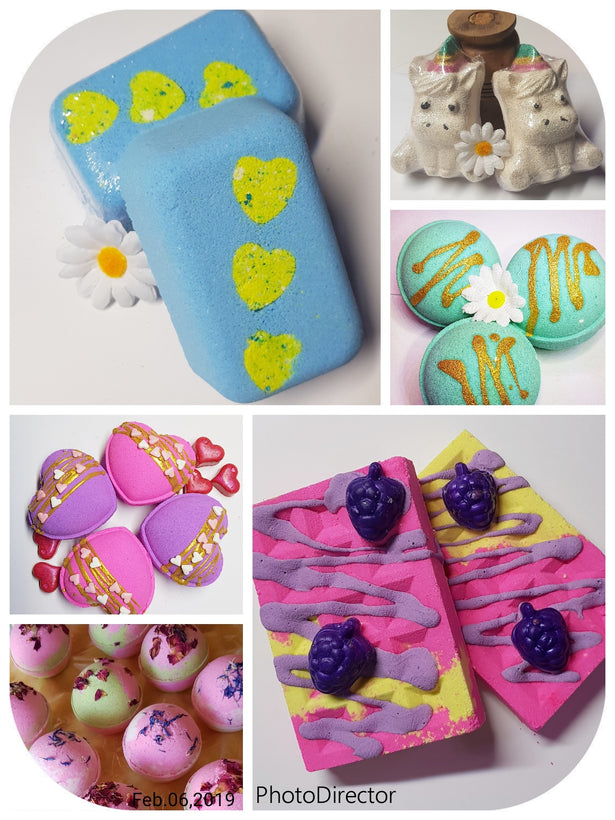 Wholesale Bath bombs, body and laundry products