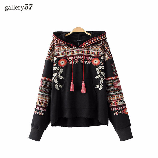 Embroidered Vagabond Sweater
