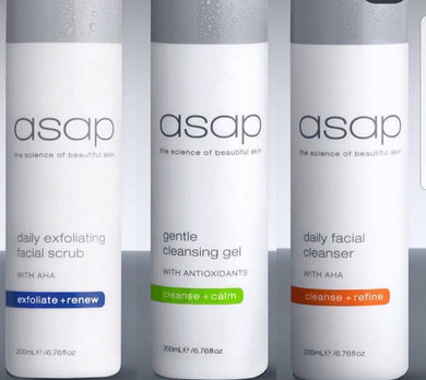 ASAP - Triple Cleanse (3 products) Limited Time Only - Exquisite Laser Clinic