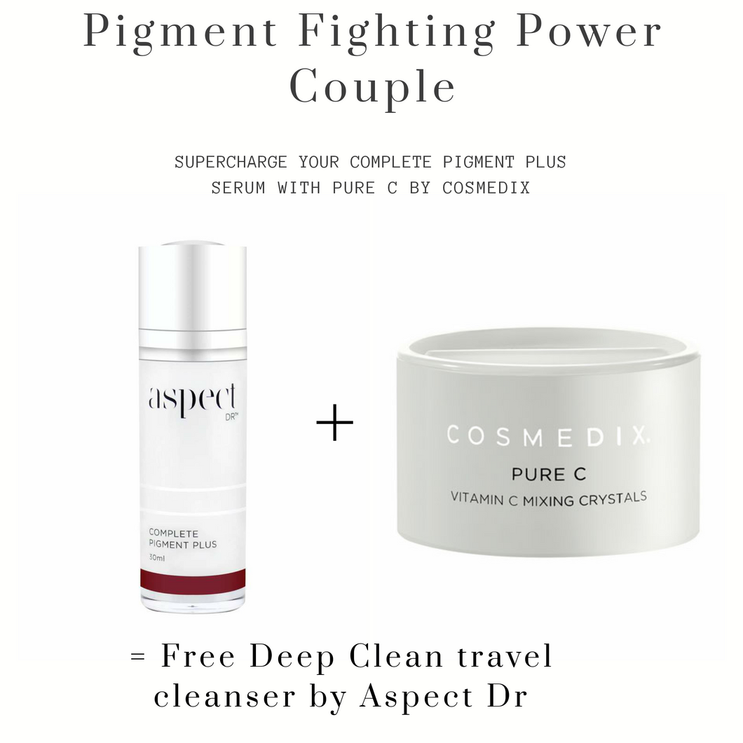 Pigment Fighting Power Couple! FREE Deep Clean Cleanser