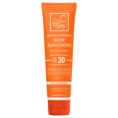 Suntegrity Natural Mineral Body Sunscreen - Broad Spectrum SPF 30