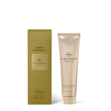 Glasshouse Kyoto in Bloom Hand Cream 100ml