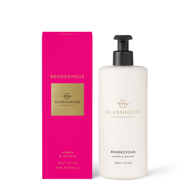 Glasshouse Rendezvous Body Lotion 400ml