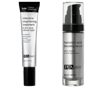 PCA - Hyaluronic acid boosting serum + PCA Skin Intensive Brightening Treatment + FREE Sheer Tint SPF 45