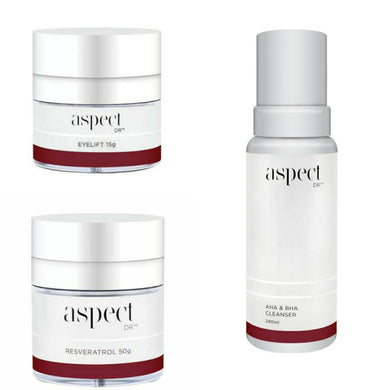 ASPECT DR -  Eye Lift + Resveratrol = FREE AHA/BHA Cleanser