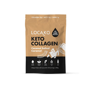 Locako - Coconut Salted Caramel - Collagen Protein (440g)