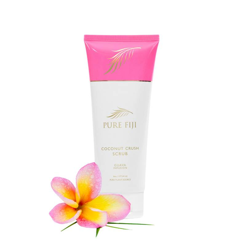 Pure Fiji Coconut Crush Scrub - GUAVA - Exquisite Laser Clinic