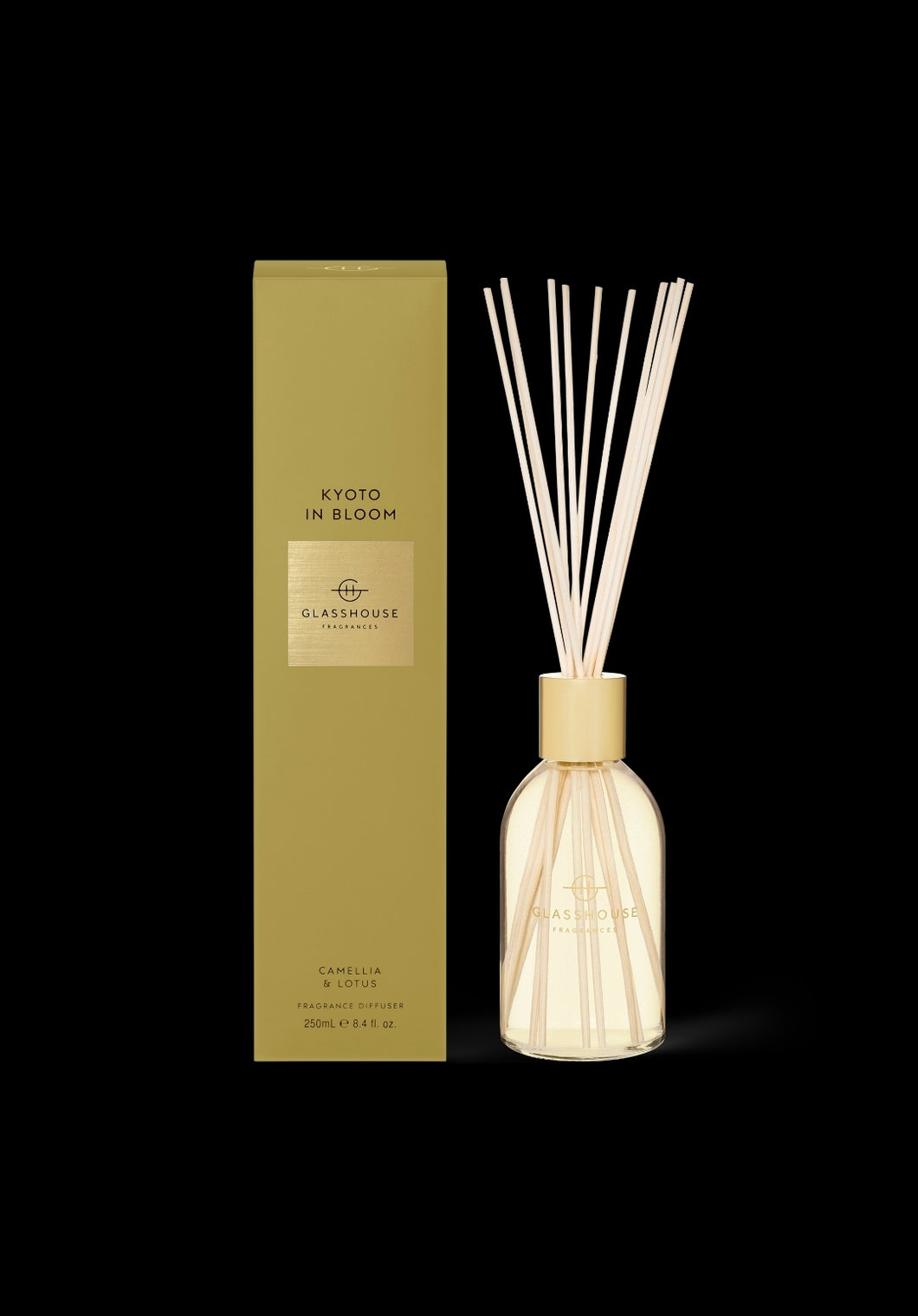 Glasshouse - Diffuser + Candle Duo Gift Pack - Kyoto in Bloom