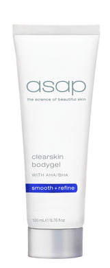 ASAP - CLEARSKIN BODY GEL 120ML - Exquisite Laser Clinic