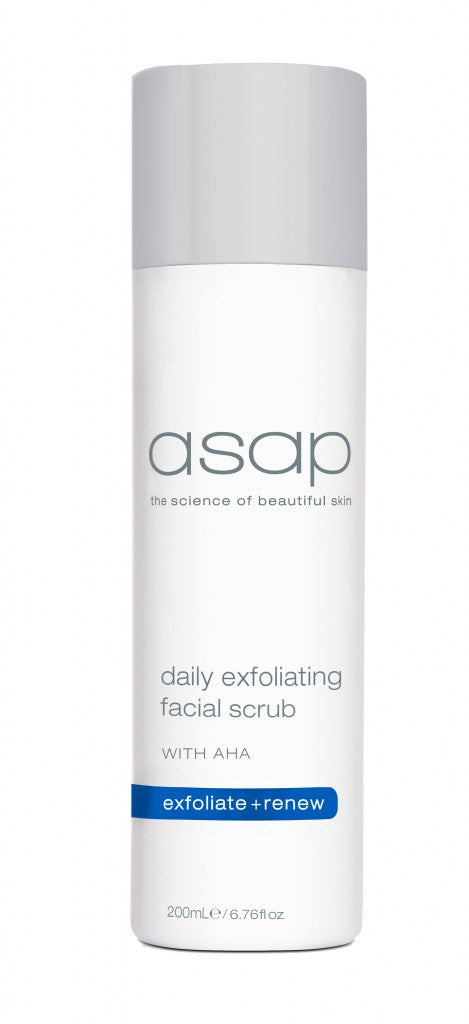 ASAP DAILY FACIAL SCRUB 200ml - Exquisite Laser Clinic