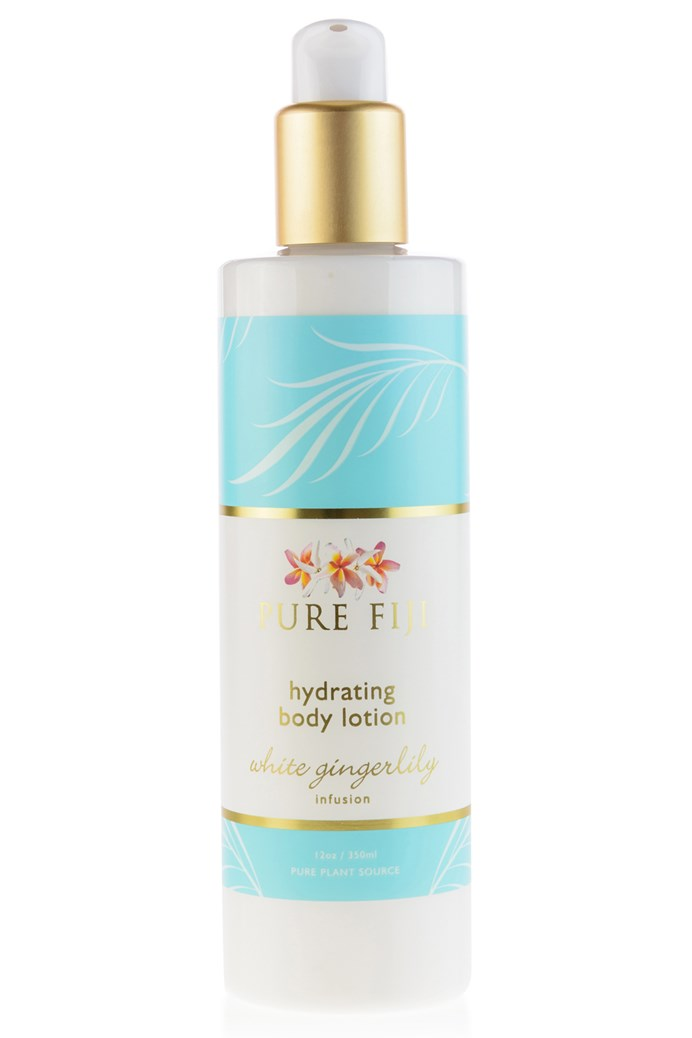 Pure Fiji - HYDRATING BODY LOTION - White ginger Lily  12oz (354ml) - Exquisite Laser Clinic