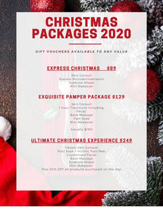CHRISTMAS 2020 PACKAGE VOUCHERS