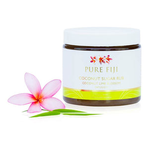 Pure Fiji - SUGAR RUB - Coconut and Lime Blossom  15.5oz (457ml) - Exquisite Laser Clinic