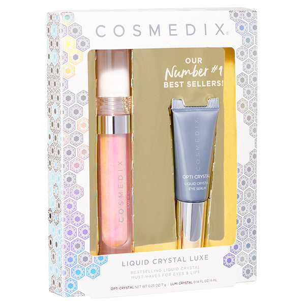 Cosmedix Christmas- Crystal Kit - EYES AND LIPS Limited Edition