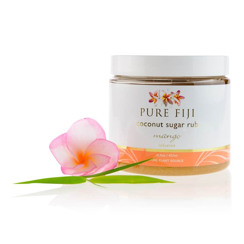 Pure Fiji - SUGAR RUB -Mango  15.5oz (457ml) - Exquisite Laser Clinic