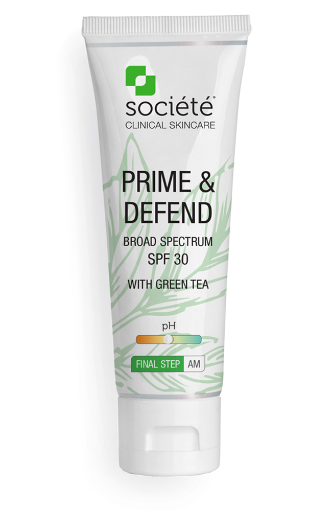 Societe - PRIME & DEFEND SPF 30 - Exquisite Laser Clinic