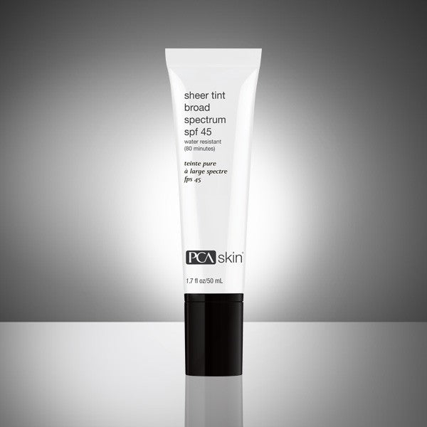 PCA Skincare - Sheer Tint Broad Spectrum SPF 45 - Exquisite Laser Clinic