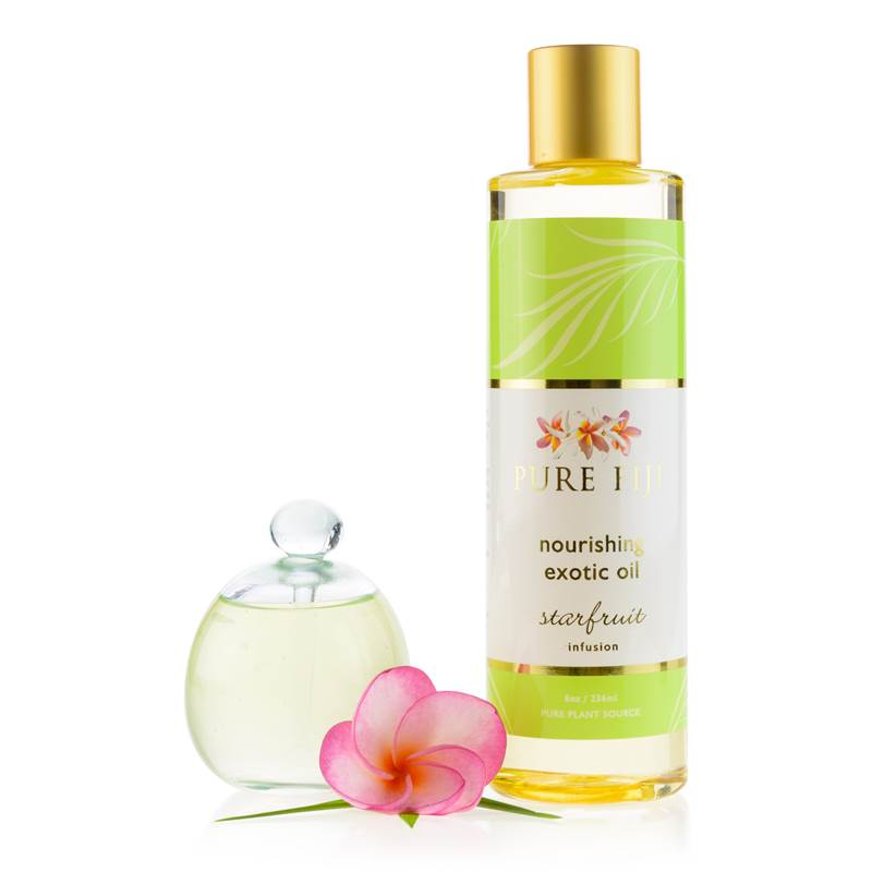 Pure Fiji -  EXOTIC BATH & BODY OIL - Starfruit   8oz (235 ml) - Exquisite Laser Clinic