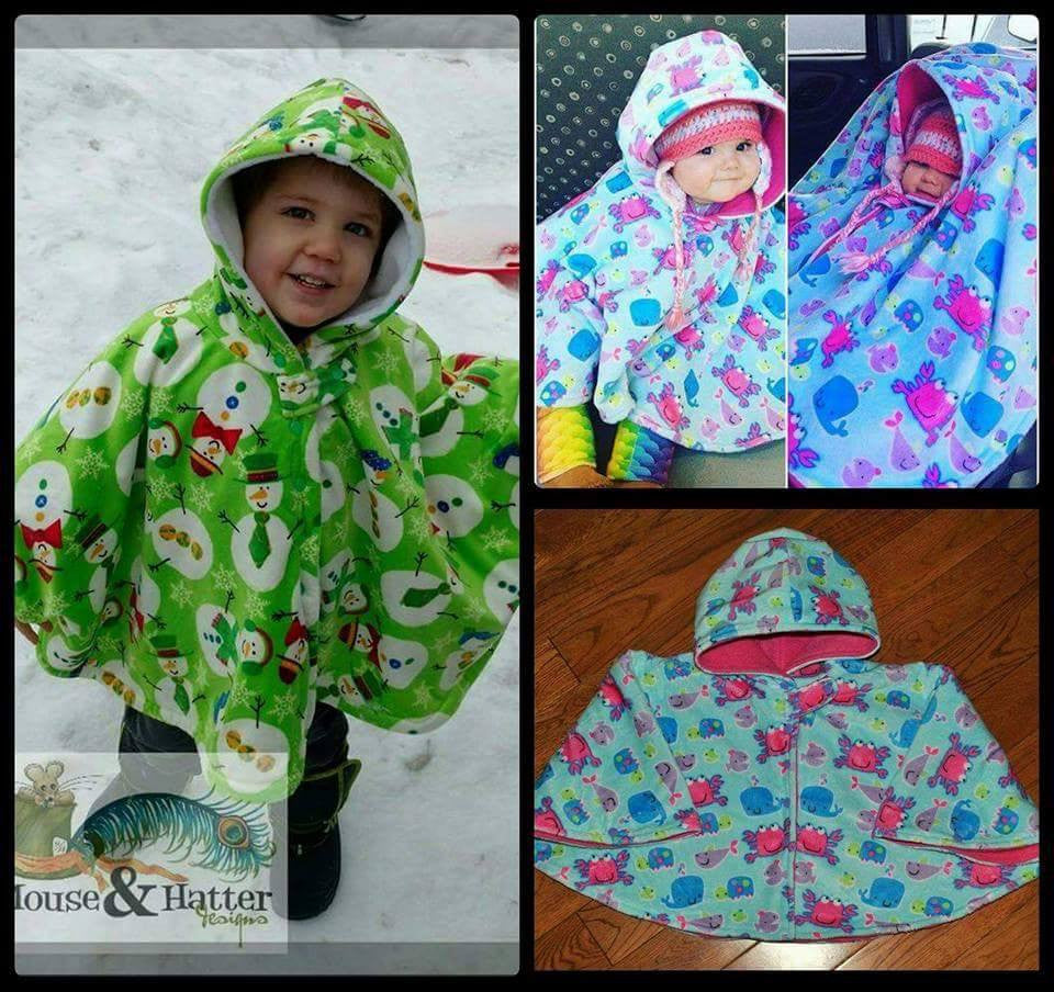 Carseat Ponchos!!!