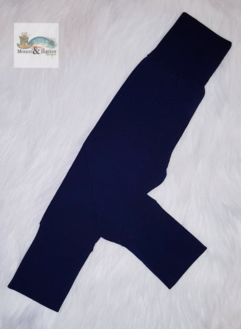 "Grow with me pants without bum circle ""Navy"""