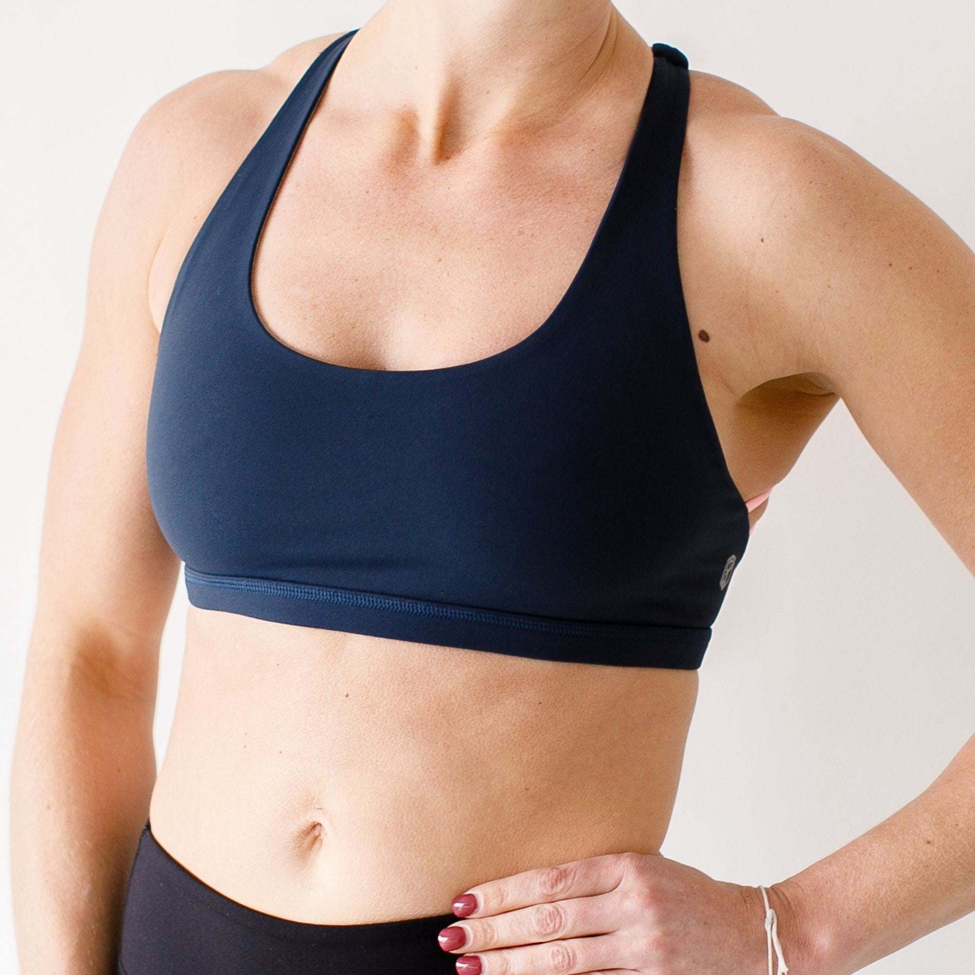 VITALITY SPORTS BRA (NAVY BLUE)
