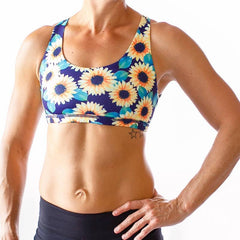 VITALITY SPORTS BRA (SUNFLOWER)
