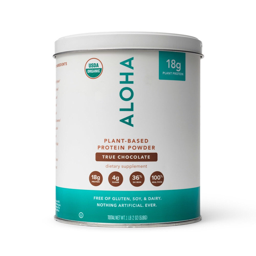 Plant-Based Protein Powder True Chocolate