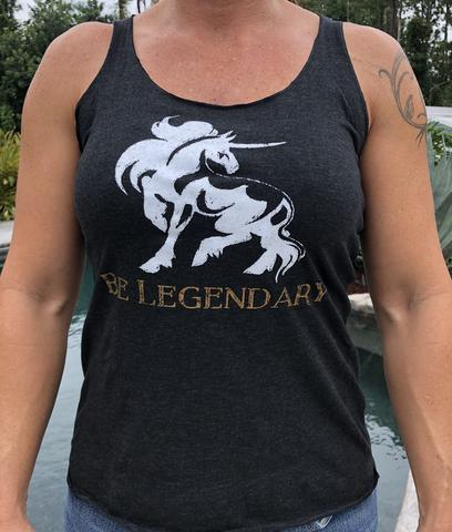 Be Legendary Racerback