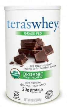 Organic Fair Trade Certified™ Dark Chocolate Whey Protein