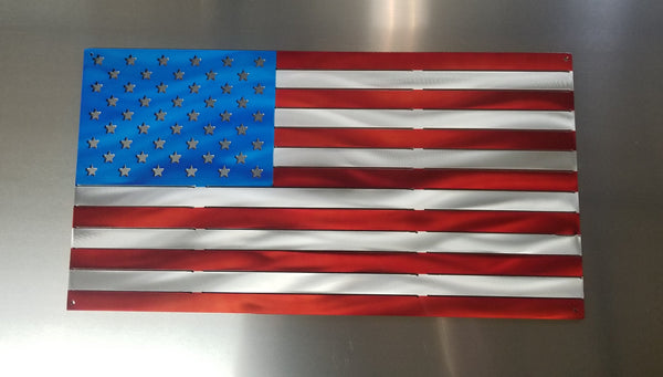 Standard American Flag Metal Art Advanced Metal Art
