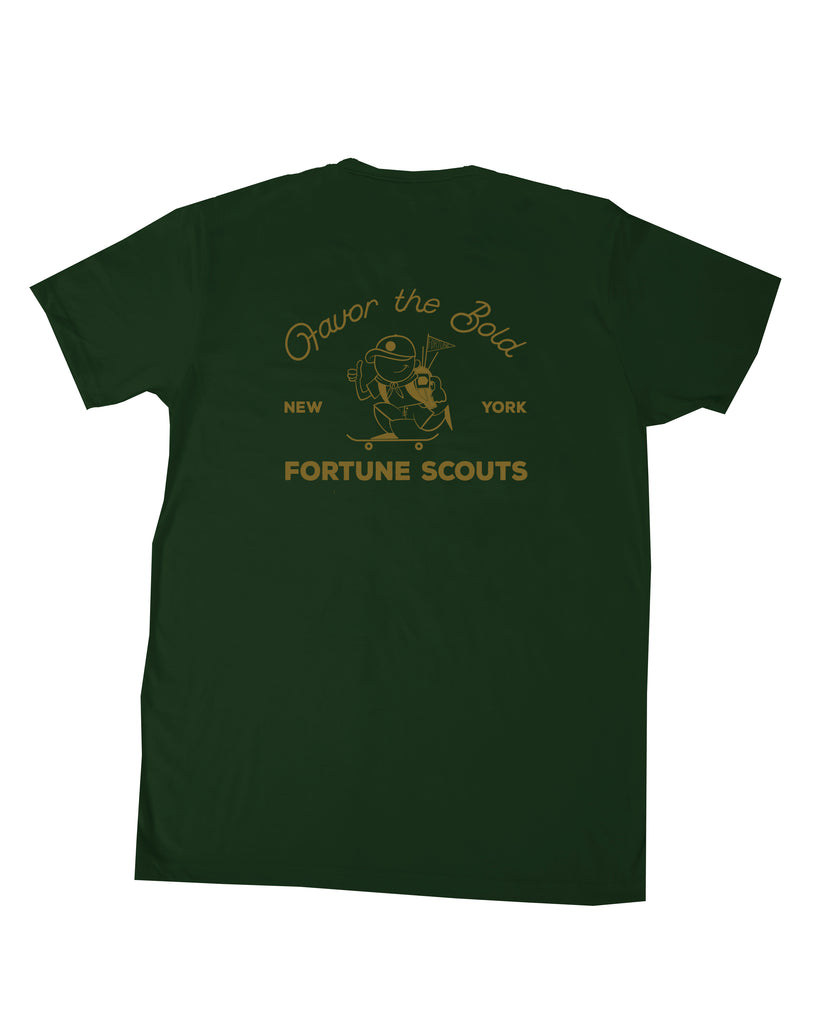 Fortune Favors the Bold Tee