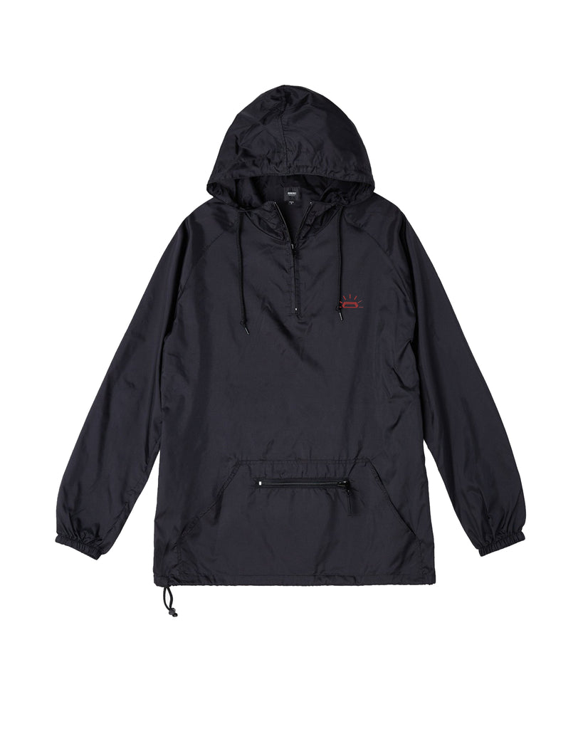 Black Pull Over Anorak
