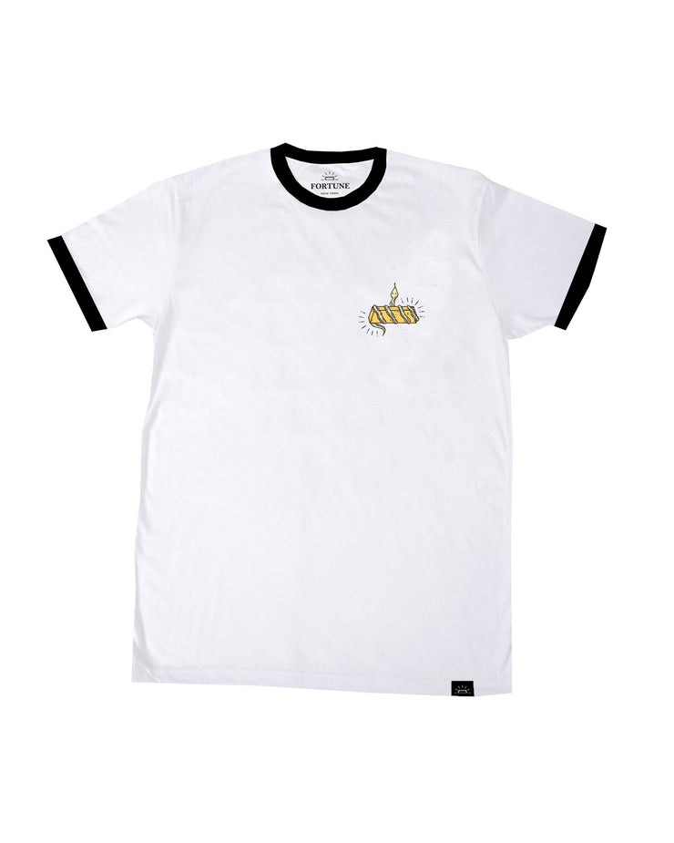 Gold Digger Ringer Tee