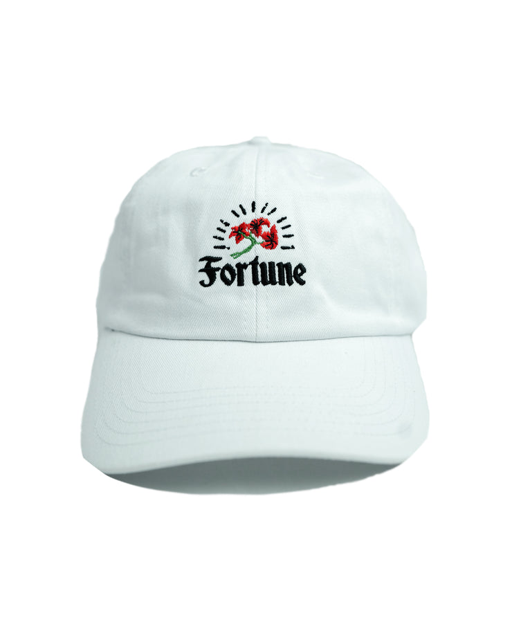 White Rose Dad Hat
