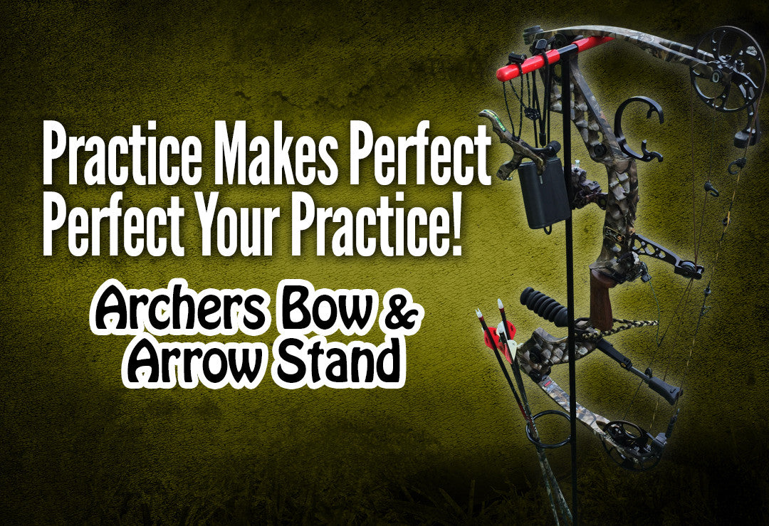 Archers Bow and Arrow Stand