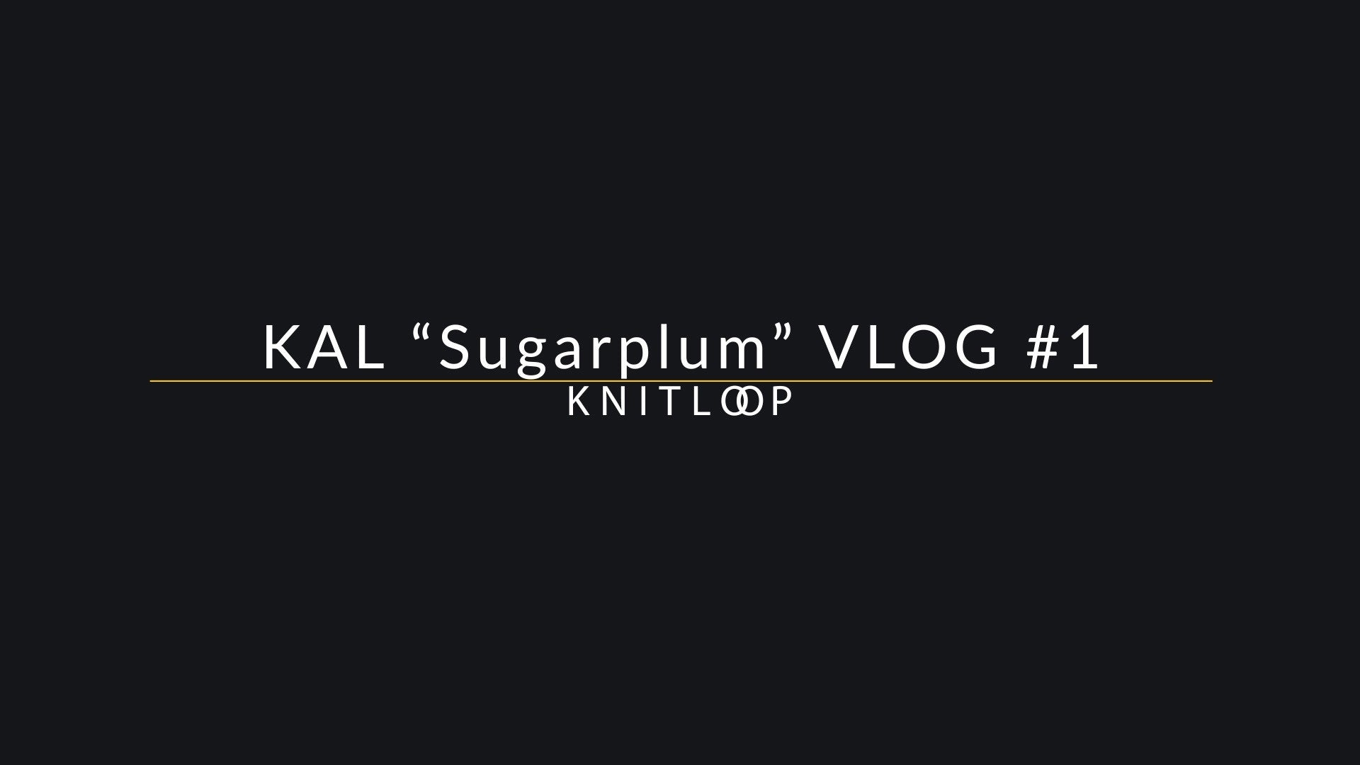 Folge 1 - Knit Along 'Top Sugarplum'