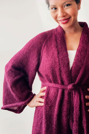 Commodus Home Robe by Stadtkindknits (kurze Version)  - Wollpaket