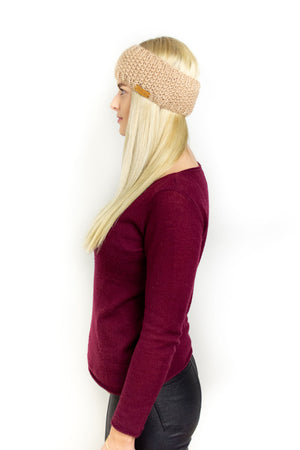 Harstad Stirnband (Strickset)