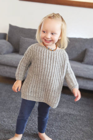 Strickanleitung Mini Helsinki Sweater