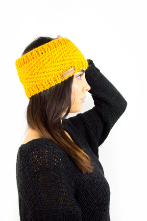 Honey Stirnband (Strickset)