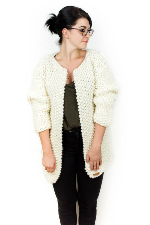 Kalix Cardigan Strickset