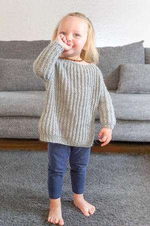 Mini Helsinki Sweater (Strickset)