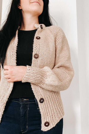 Perm Cardigan (Strickset)