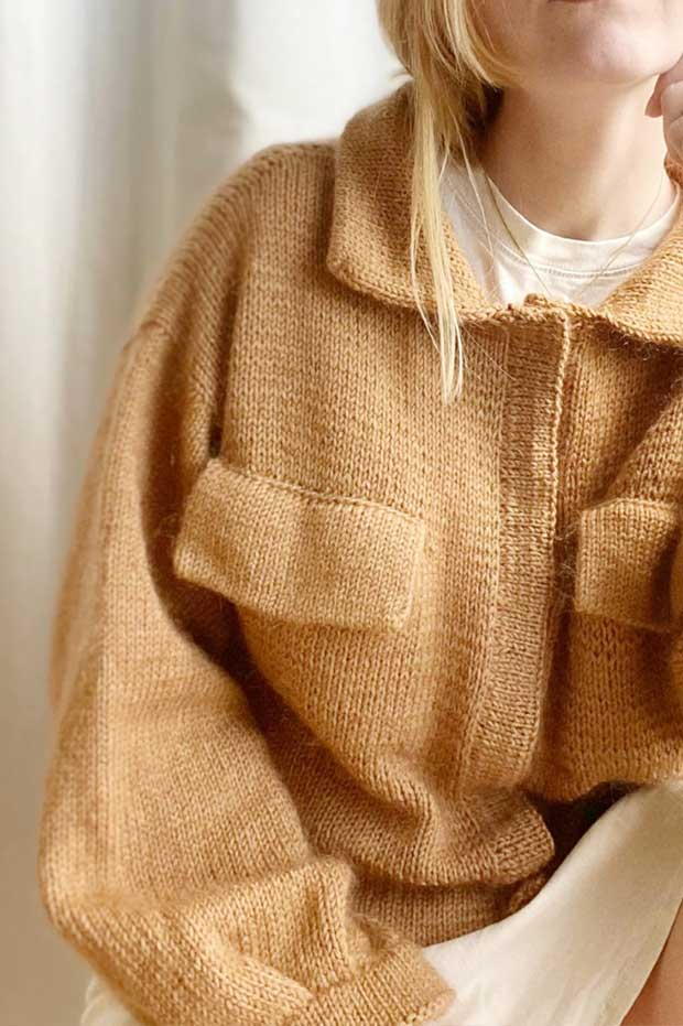 Mave's jacket by Sharins - Wollpaket | 100% SWEET ALPACA + SHINY YAK |
