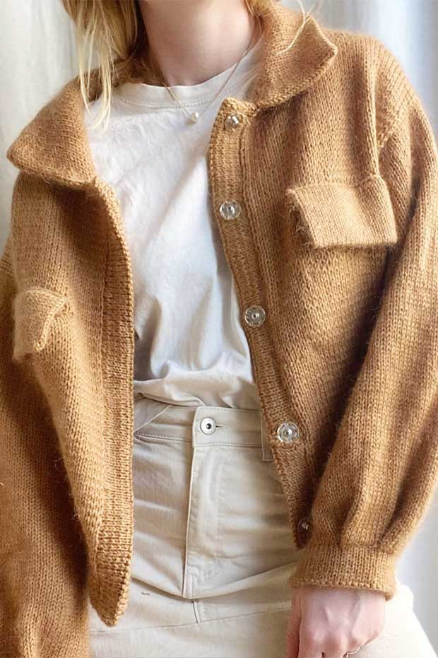 Mave's jacket by Sharins  - Wollpaket | 100% SWEET ALPACA + SILKY MOHAIR |