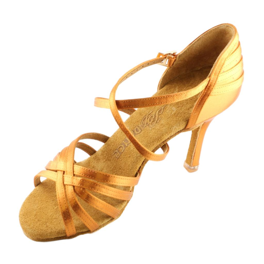 BD Dance 2324 EH14 Heel Latin Dance Shoes for Women