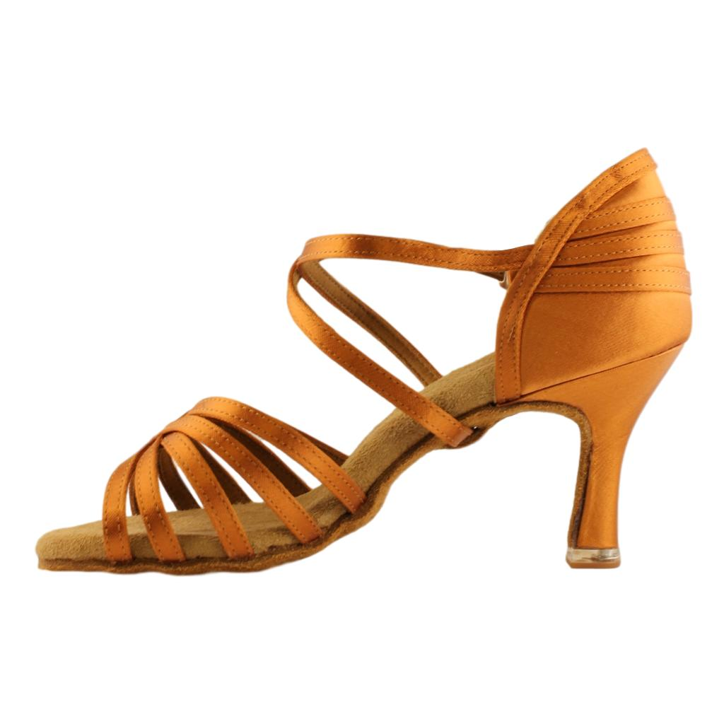 BD Dance 2324 EH4 Heel Latin Dance Shoes for Women